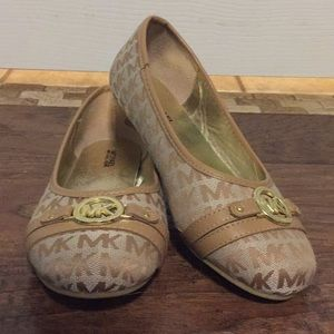 Never worn Girls's Micheal Kors Flats, Size 3